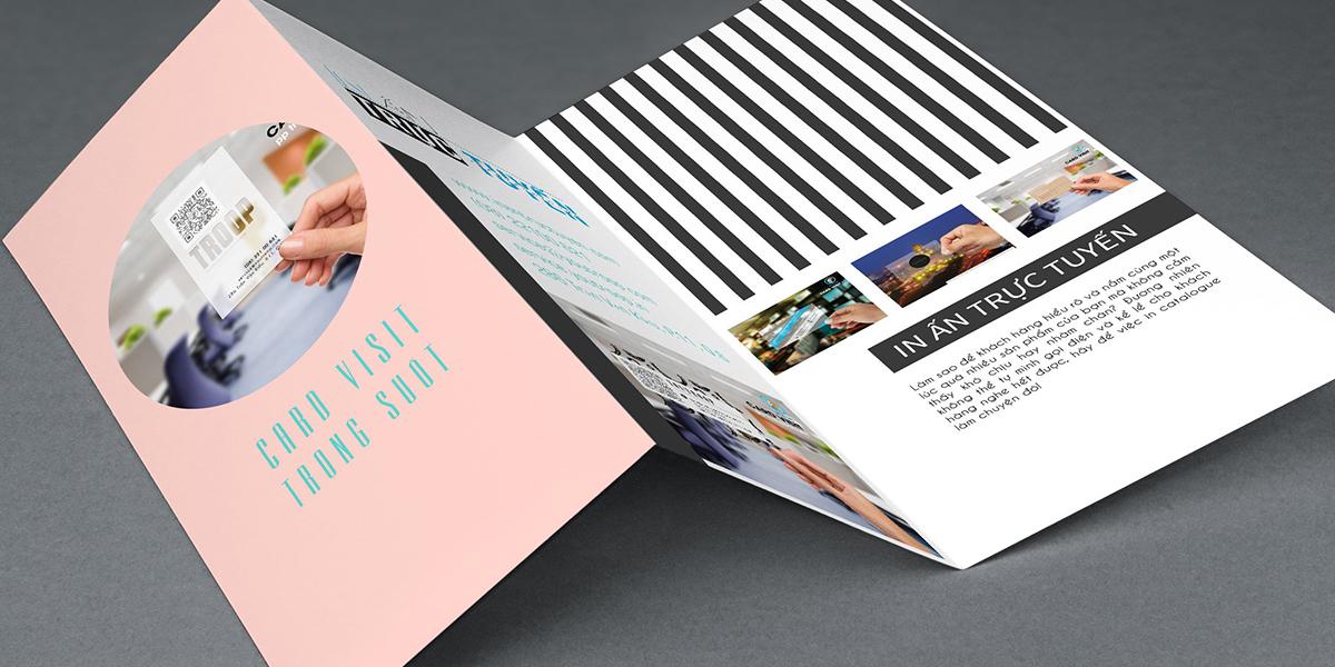 Sự khác biệt của Brochure với những ấn phẩm khác