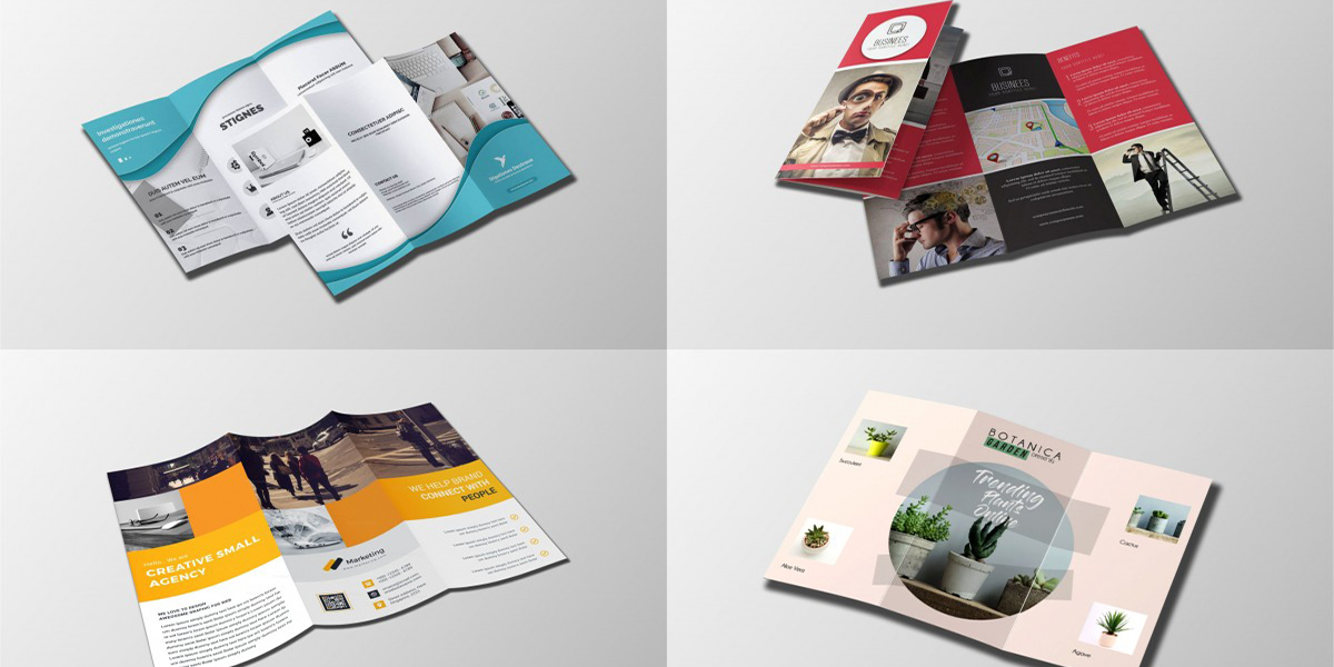 Xu hướng thiết kế Brochure nổi bật 2021