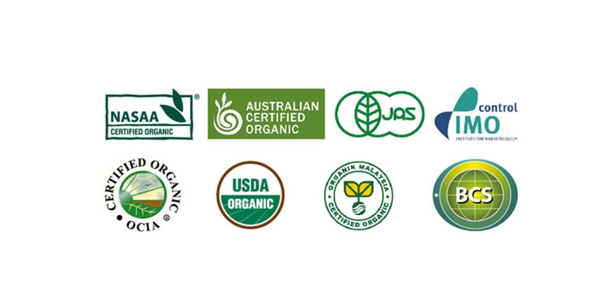 Các đơn vị cấp chứng nhận organic