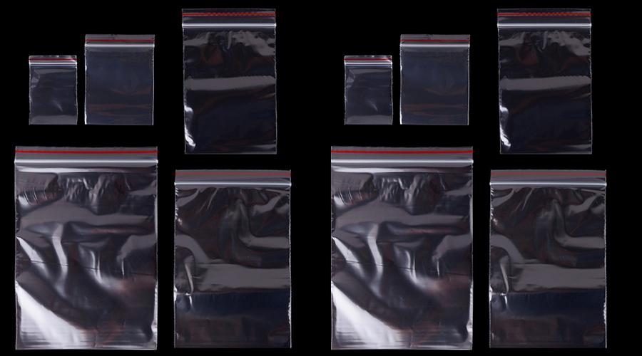 Các loại túi zipper trong suốt