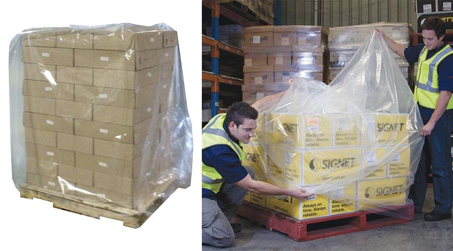 Túi trùm pallet được sử dụng phổ biến cho các ngành nghề nào