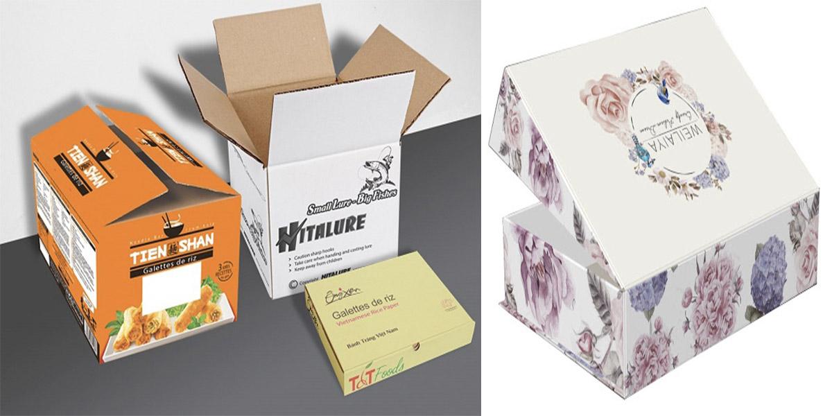 Phân loại các loại thùng carton in offset