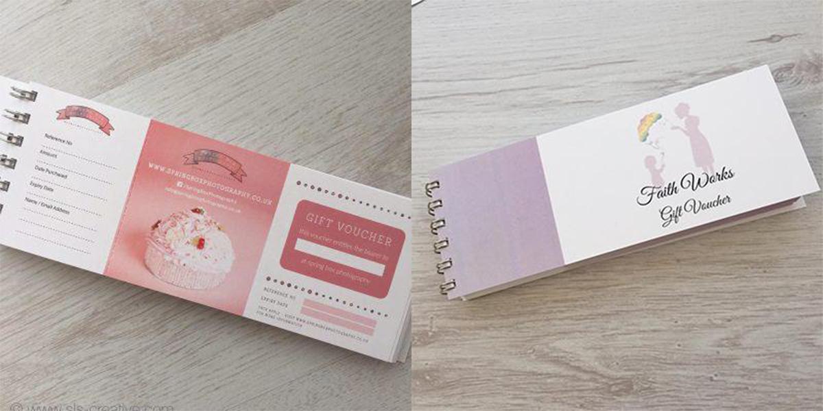 Mẫu gift voucher dạng thẻ