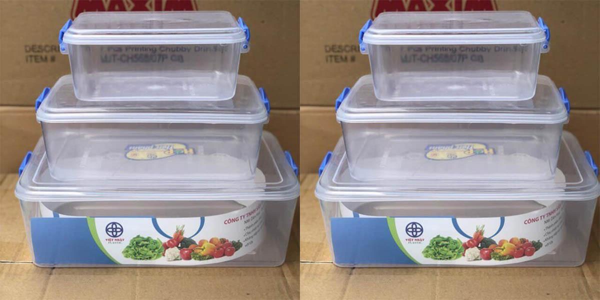 Lựa chọn hộp nhựa vô cơ cứng màu trắng