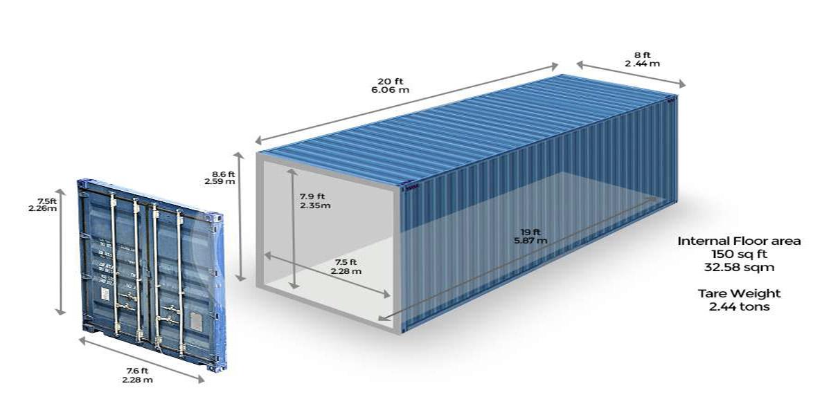 Kích thước thùng container 40 feet