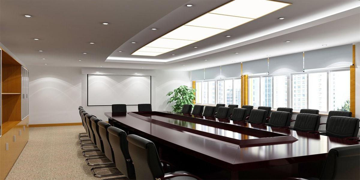 mẫu phòng họp sang trọng