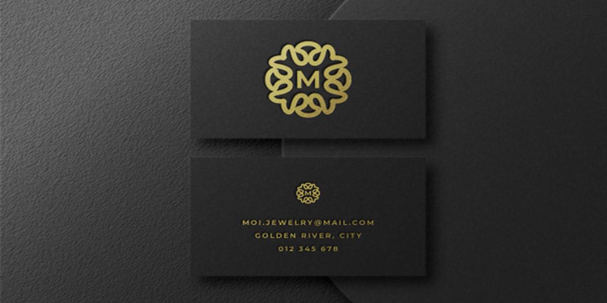 Mẫu name card có logo đặc biệt