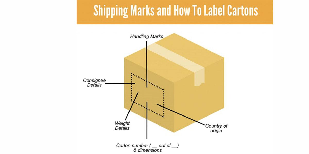 Nguyên tắc sử dụng shipping mark