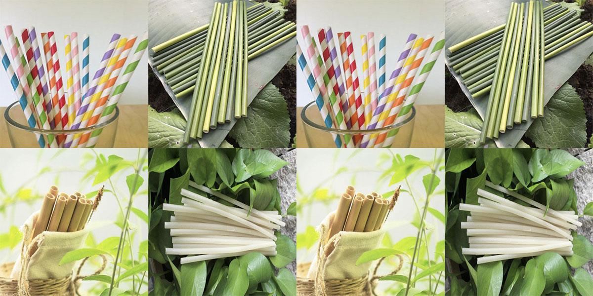 Những ưu điểm và nhược điểm của ống hút giấy