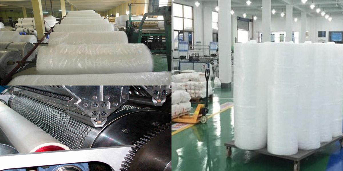 Sản xuất xốp bóng khí gói hàng
