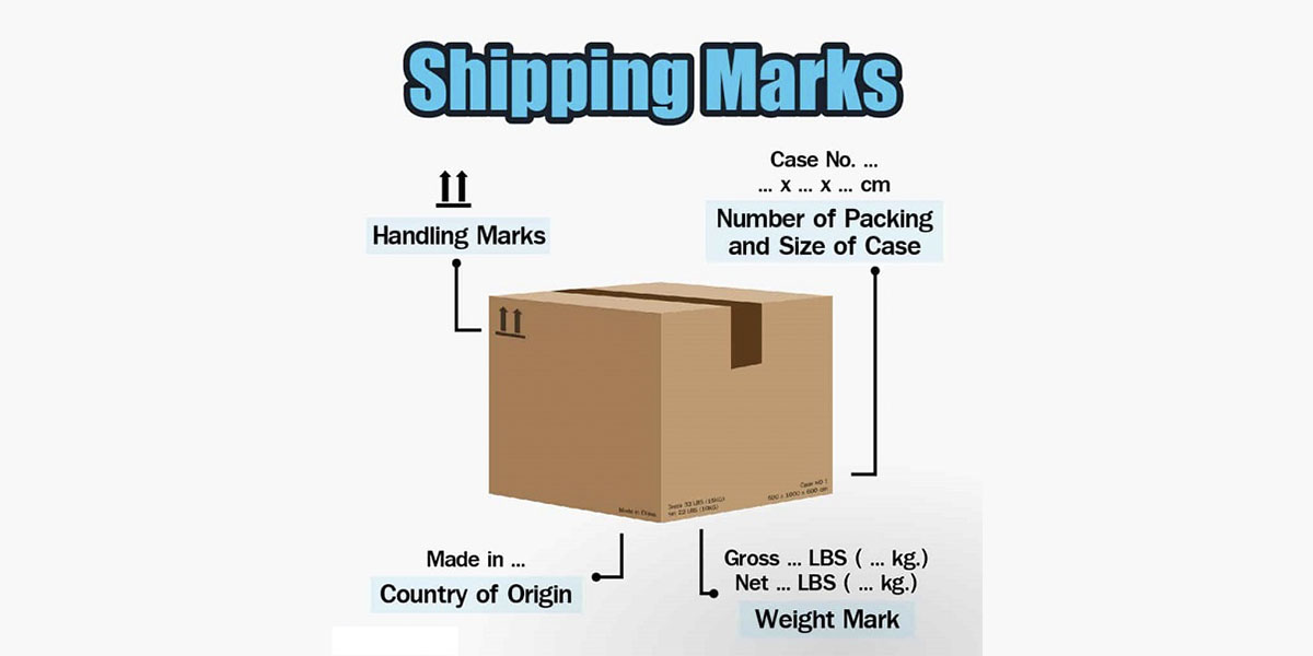 Tác dụng của shipping mark