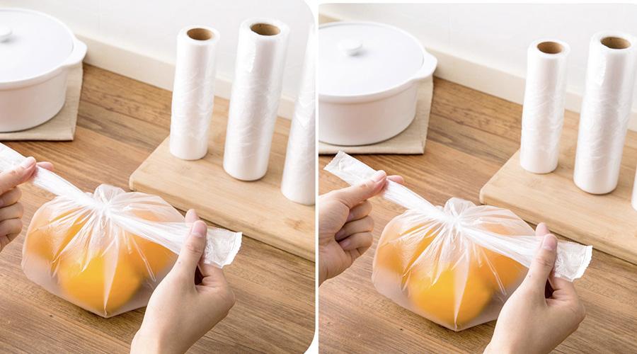 Vì sao túi nilon pe dạng cuộn được sử dụng rộng rãi