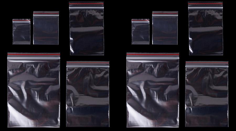 Thông tin túi zipper chỉ đỏ