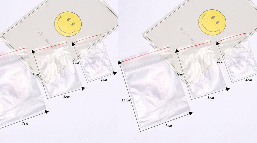 Thông tin túi zipper trong suốt