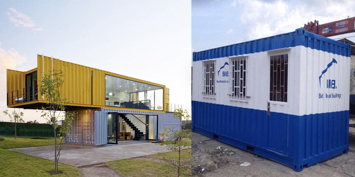 Thùng container ngày càng được ứng dụng rộng rãi trong sản xuất